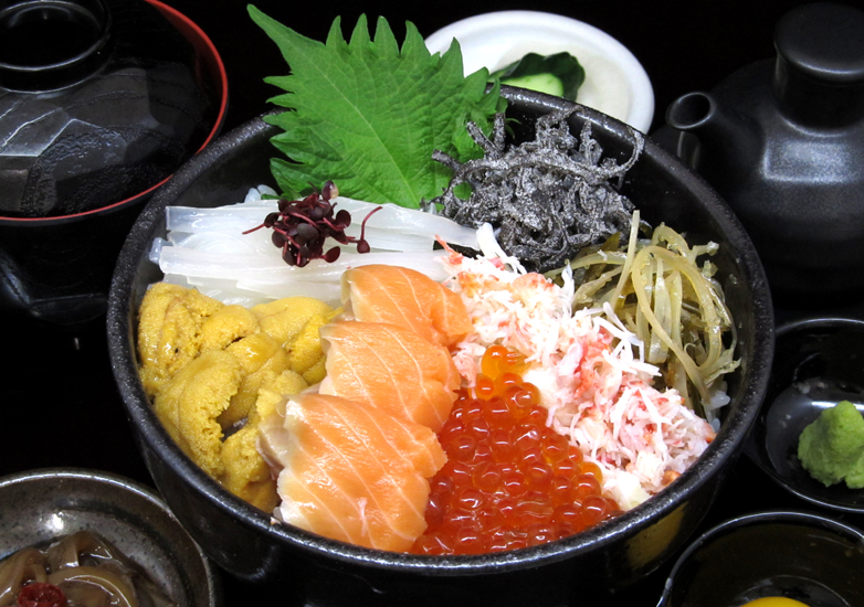 海鮮五種丼正面B